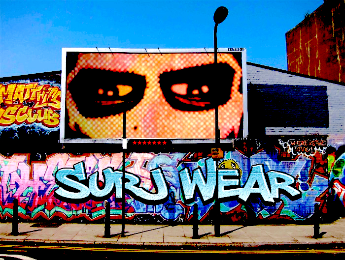 surj wear, surj artwork, surj the artist, art, pop art
