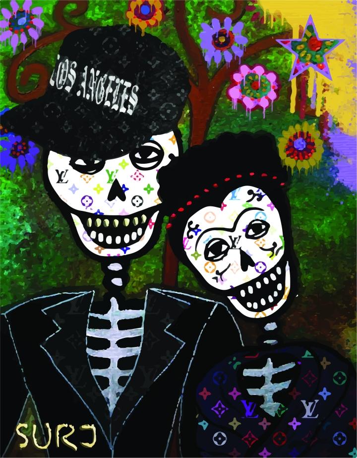 diego rivera, frida kahlo, art, popa rt, dia de los muertos,