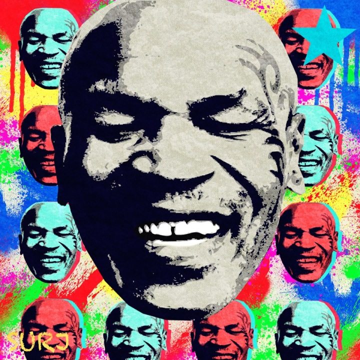 iron mike, mike tyson, tyson, surj art