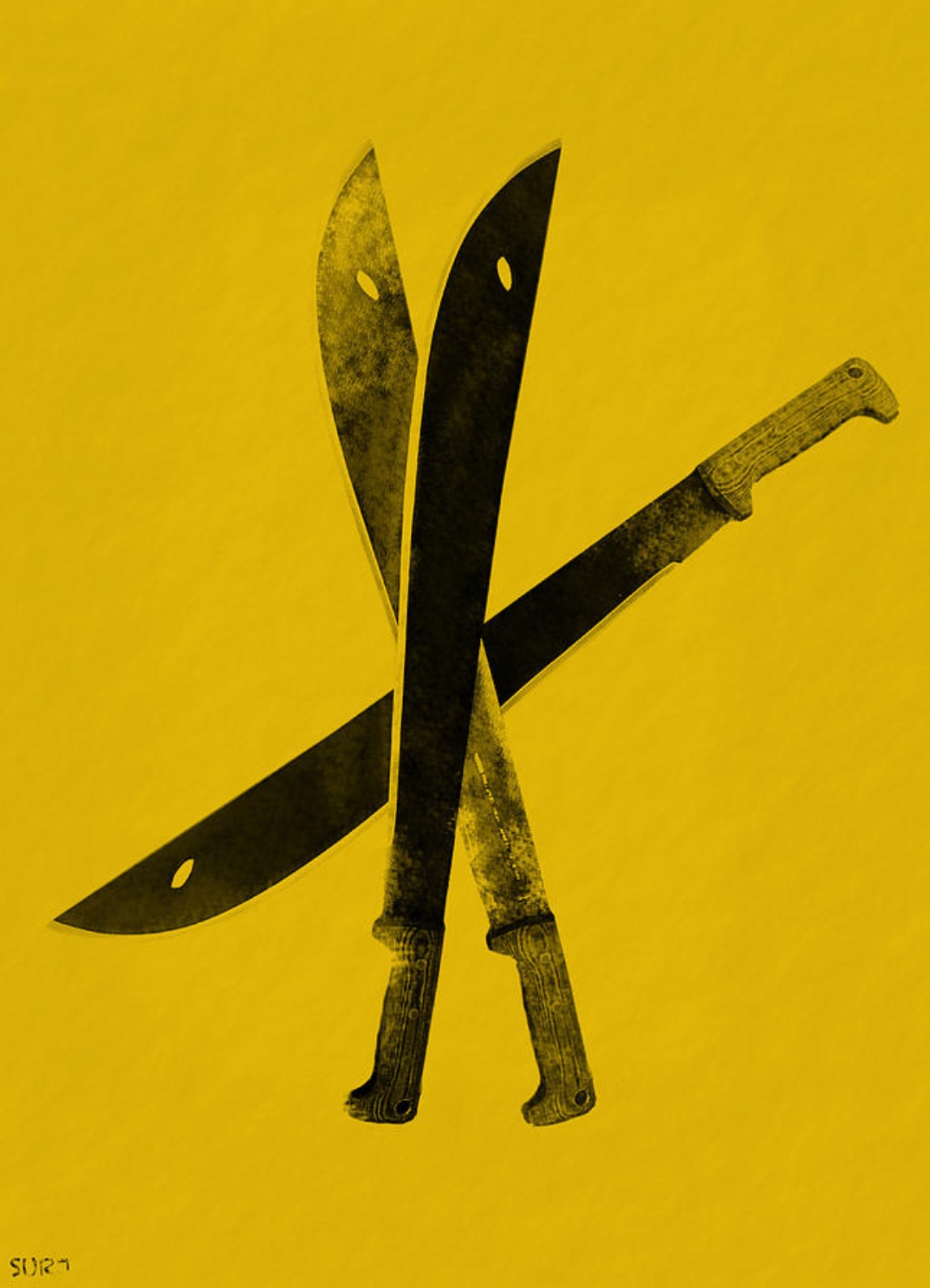 warhol, warhol knives, pop art, art, andy warhol, homage to warhol