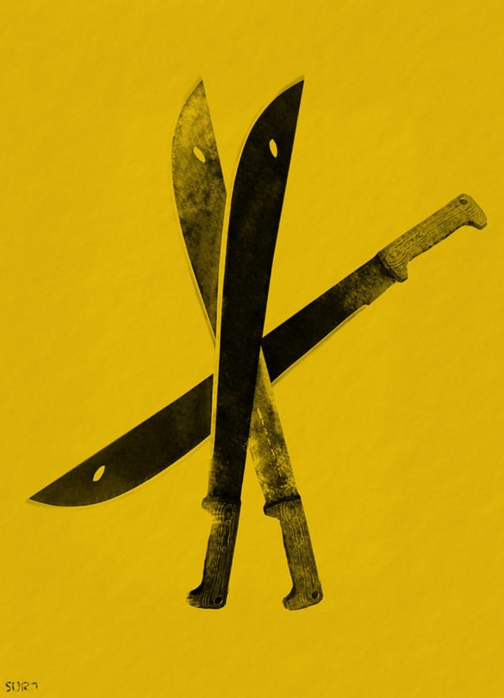 warhol, warhol knives, pop art, art, andy warhol, homage to warhol