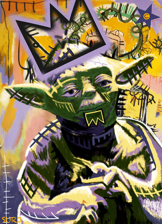 yoda art, yoda, 1981, star wars, return of the jedi, pop art, star wars, the force awakens