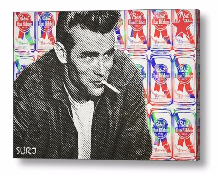 James Dean art, James Dean art prints