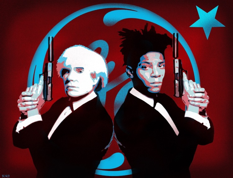The Big Guns - Warhol And Basquiat