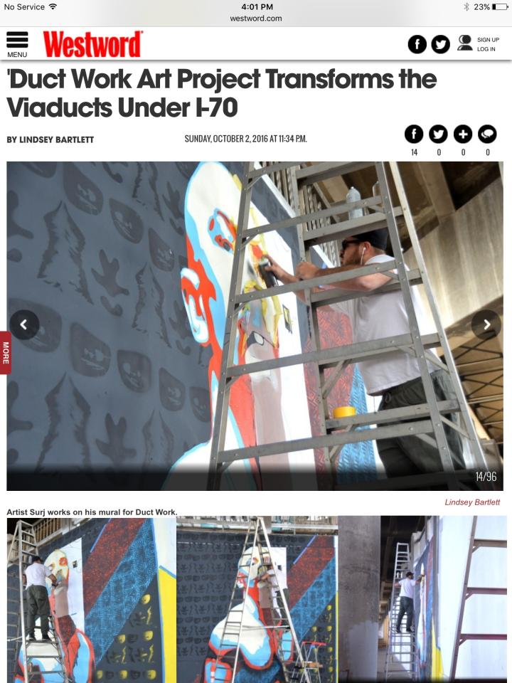 denver street art, surj, denver art mural, denver street artist, street art denver, street art