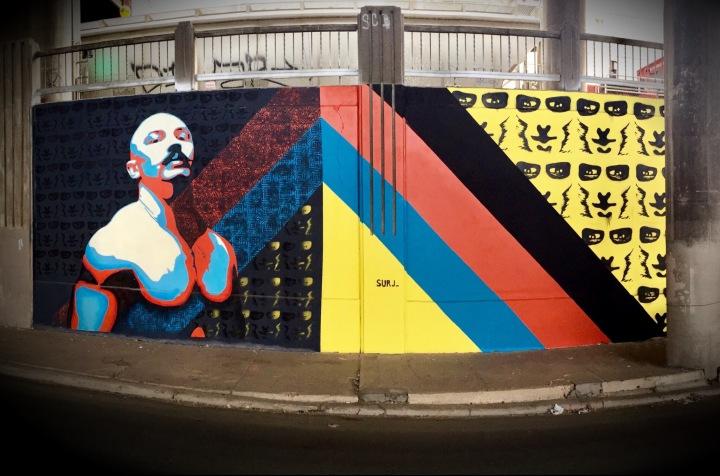 denver street art, art mural denver, street art denver, surj, surj art